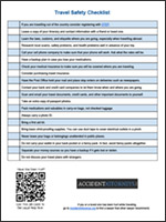 safety-guides-travel-checklist