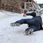 Winter Slip and Fall Accident